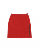 디스이즈네버댓(THISISNEVERTHAT) Corduroy Skirt Red