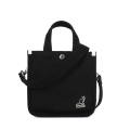 캉골(KANGOL) Canvas Tote Bag Mini 3727 BLACK