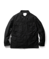 에스피오나지(espionage) Cove M-51 Field Jacket Black
