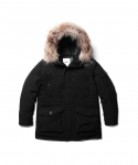 에스피오나지(ESPIONAGE) EG07 Colby Heavy Down Parka Black