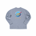 필이너프(FEELENUFF) INTERNATIONAL CREWNECK GRAY