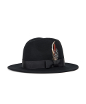 와일드 브릭스(WILD BRICKS) WOOL FEDORA (black)