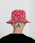 블라드블라디스(VLADVLADES) Paisley Bucket Hat 02 Red