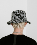 블라드블라디스(VLADVLADES) Paisley Bucket Hat 01 Black