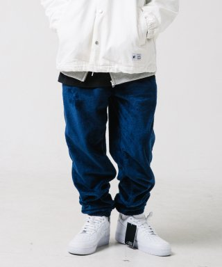 위캔더스(wkndrs) WAVY FUR PANTS (NAVY)