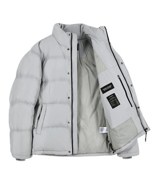 인사일런스(INSILENCE) ESSENTIAL DOWN JACKET (grey)