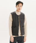 제로(xero) Down Inner Vest [U Neck]