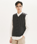 제로(xero) Down Inner Vest [V Neck]