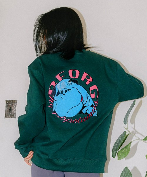 리올그_HIPPO SWEATSHIRT GREEN