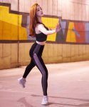 핑크배터리(PINKBATTERIE) JENNICE LEGGINGS / GRAY