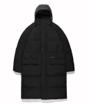 라이풀(LIFUL) PHANTOM LONG DOWN PARKA black