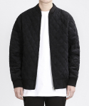 TP83 CORDUROY QUILTING JACKET (BLACK)