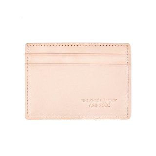 에이징씨씨씨(aging) 238#X CARD WALLET- VEGETABLE