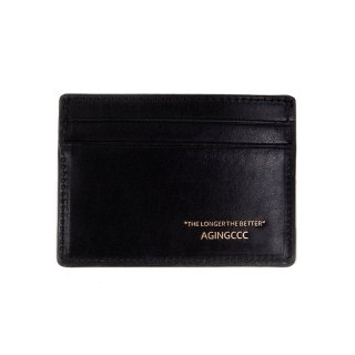 에이징씨씨씨(aging) 242# X CARD WALLET-COW HIDE