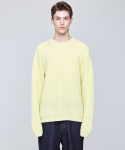인디고칠드런(INDIGO CHILDREN) OVERSIZED ALPACA KNIT [LEMON]