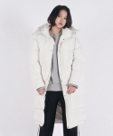 크리스브라운(CHRISBROWN) WOMENs DUCKDOWN INNERCITY LONG PARKA (WHITE)