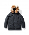 EG07 Colby Heavy Down Parka Charcoal