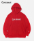 AUTHENTIC LOGO HOODIE RED