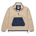 폴라(POLAR) Gonzalez Fleece Jacket - Sand/Navy