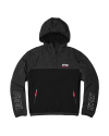 필이너프(feelenuff) NSFE HOODIE FLEECE ANORAK JACKET (BLK)