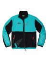 필이너프(feelenuff) NSFE FLEECE ZIP-UP JACKET (BLK-MINT)