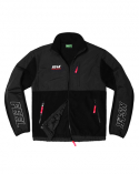 필이너프(FEELENUFF) NSFE FLEECE ZIP-UP JACKET (BLK)
