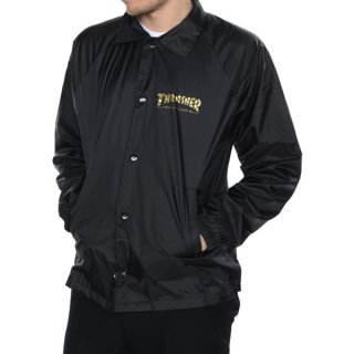 쓰레셔(thrasher) 트래셔 314405 PENTAGRAM COACH JACKET - 블랙