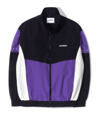 큐티에잇(qt8) KP Old Track Jacket (Purple)