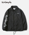 SIDE LOGO COACH JACKET BLACK