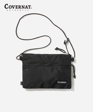 커버낫(covernat) SACOCHE BAG BLACK