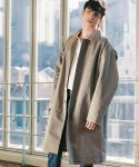 모디파이드(MODIFIED) M#1509 over tuck mac coat (beige)