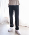 WANNA BE LONG WIDE SLACKS (BLACK)