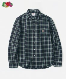 L/S 1PK CHECK SHIRTS GREEN