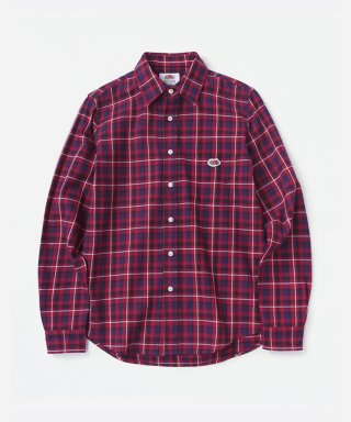 프룻오브더룸(fruitoftheloom) L/S 1PK CHECK SHIRTS RED