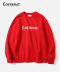 AUTHENTIC LOGO CREWNECK RED