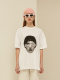 FACE PRINTING T-SHIRT (WHITE)