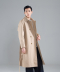 Over Fit Long Trench Coat (Beige) [HDSMCT001BEI]