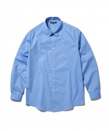 SOLID SHIRT blue
