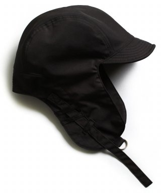 슬리피슬립(sleepyslip) [unisex]S/S SATIN TROOPER HAT BLACK