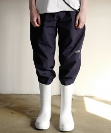Stopper Detail Pants (Navy)