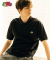 [Asian fit] WAPPEN POLO T-SHIRTS BLACK