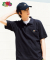 [Asian fit] WAPPEN POLO T-SHIRTS NAVY