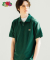[Asian fit] WAPPEN POLO T-SHIRTS GREEN