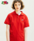 [Asian fit] WAPPEN POLO T-SHIRTS RED