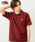 [Asian fit] WAPPEN POLO T-SHIRTS BURGUNDY