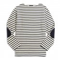 피스틸로(PISTILO) Navy/white Striped shirts