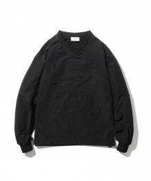Roslin Warm Up Pullover Shirt Black