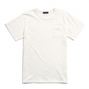 피스틸로(PISTILO) White Shorts-sleeved Pocket-shirts