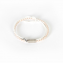 내셔널 퍼블리시티() LEATHER COMBI BRACELET_WHITE
