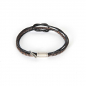 내셔널 퍼블리시티() LEATHER COMBI BRACELET_BLACK